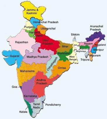 Top 10 Smallest States In India