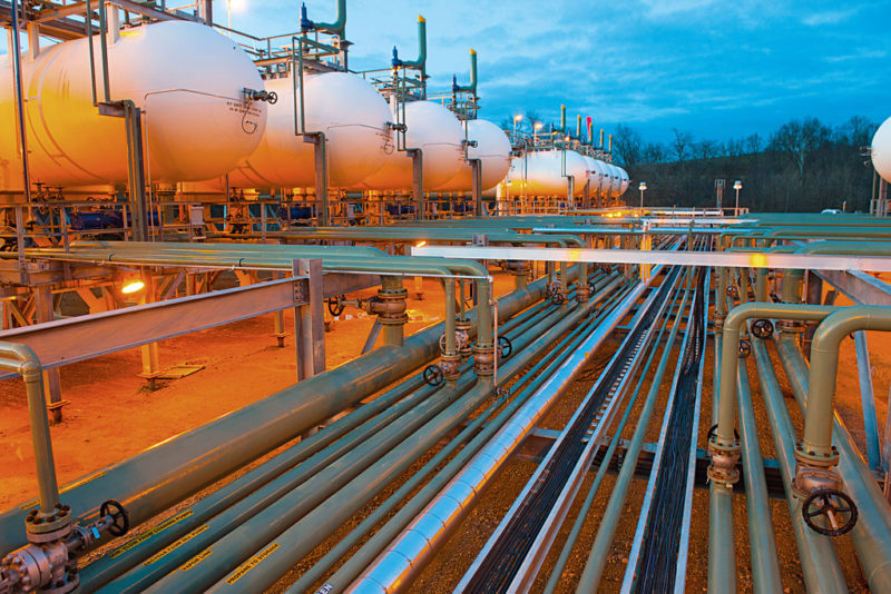 Top 10 Natural Gas Consuming By Country -